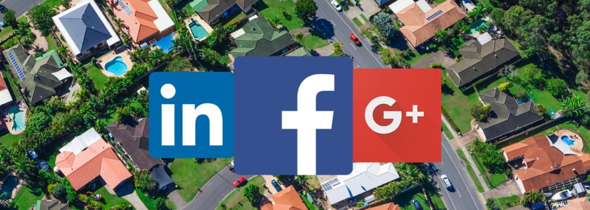 Log in with Facebook, Linkedin or Googleplus
